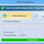 (備份應用程式)AX64 Time Machine 1.2.0.1090