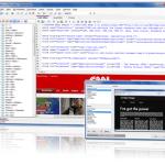 (網頁設計軟體)The Free HTML Editor 9.5 建立網頁