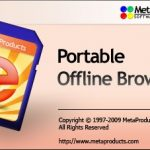 (離線瀏覽器)MetaProducts Portable Offline Browser 6.8.4098